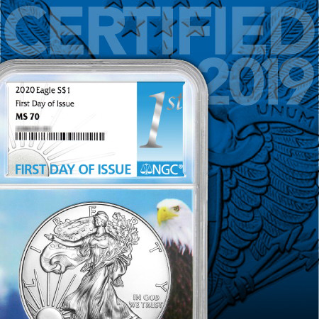 Current Year-Date Certified American Silver Eagles