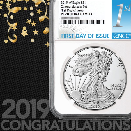 2019 W Proof American Silver Eagles Silvertowne