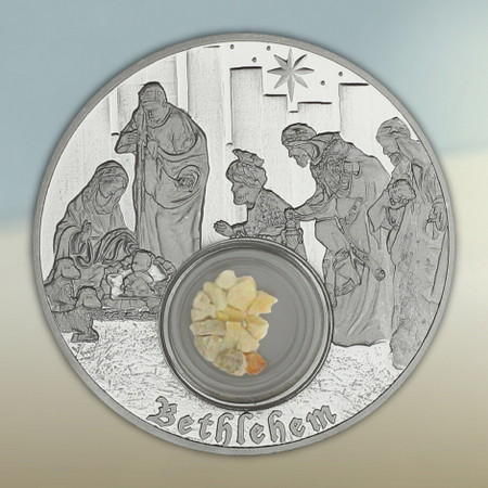 Footsteps of Jesus Silver Coin Series