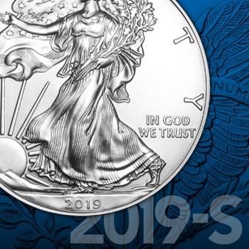 2019S Proof Silver American Eagle Coins