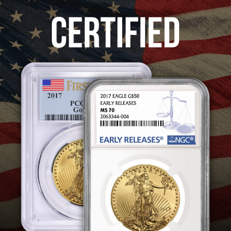 Certified Gold American Eagles