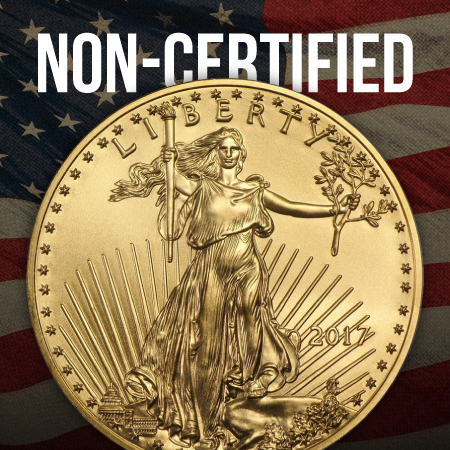Non-Certified Gold American Eagles