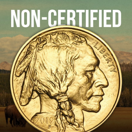 Non-Certified Gold Buffalos