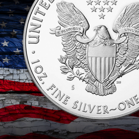 San Francisco Mint Certified Silver American Eagles