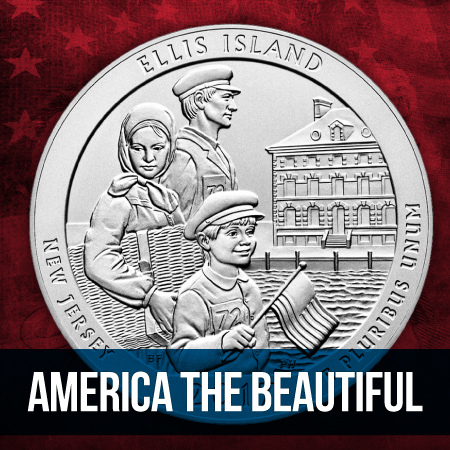 5 Ounce America The Beautiful Silver Bullion Coins