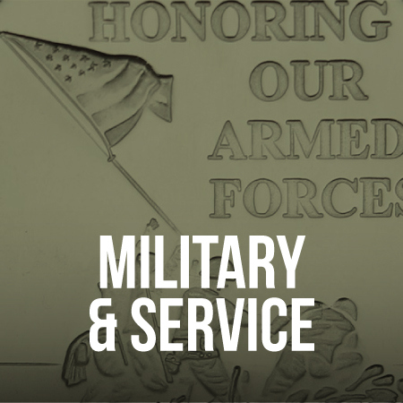 Military and Service Recognition Silver Bullion