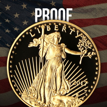 Proof American Gold Eagle Bullion Coins