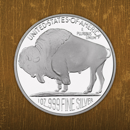 .999 Silver Bullion Rounds