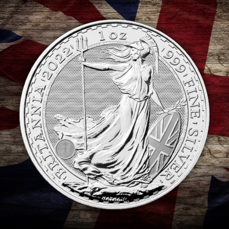 Great Britain Silver Coins & Bullion