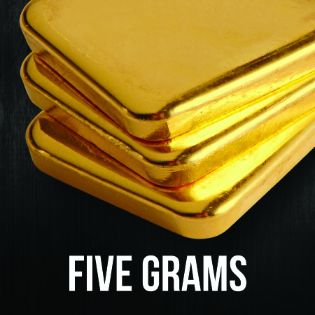 5 Gram Gold Bullion Bars