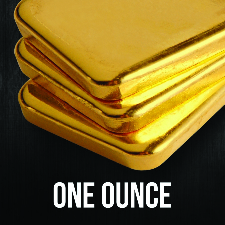 1 Ounce Gold Bullion Bars