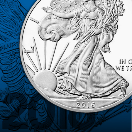 2016 W Proof Silver American Eagles