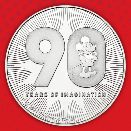 Disney Licensed Silver Coins