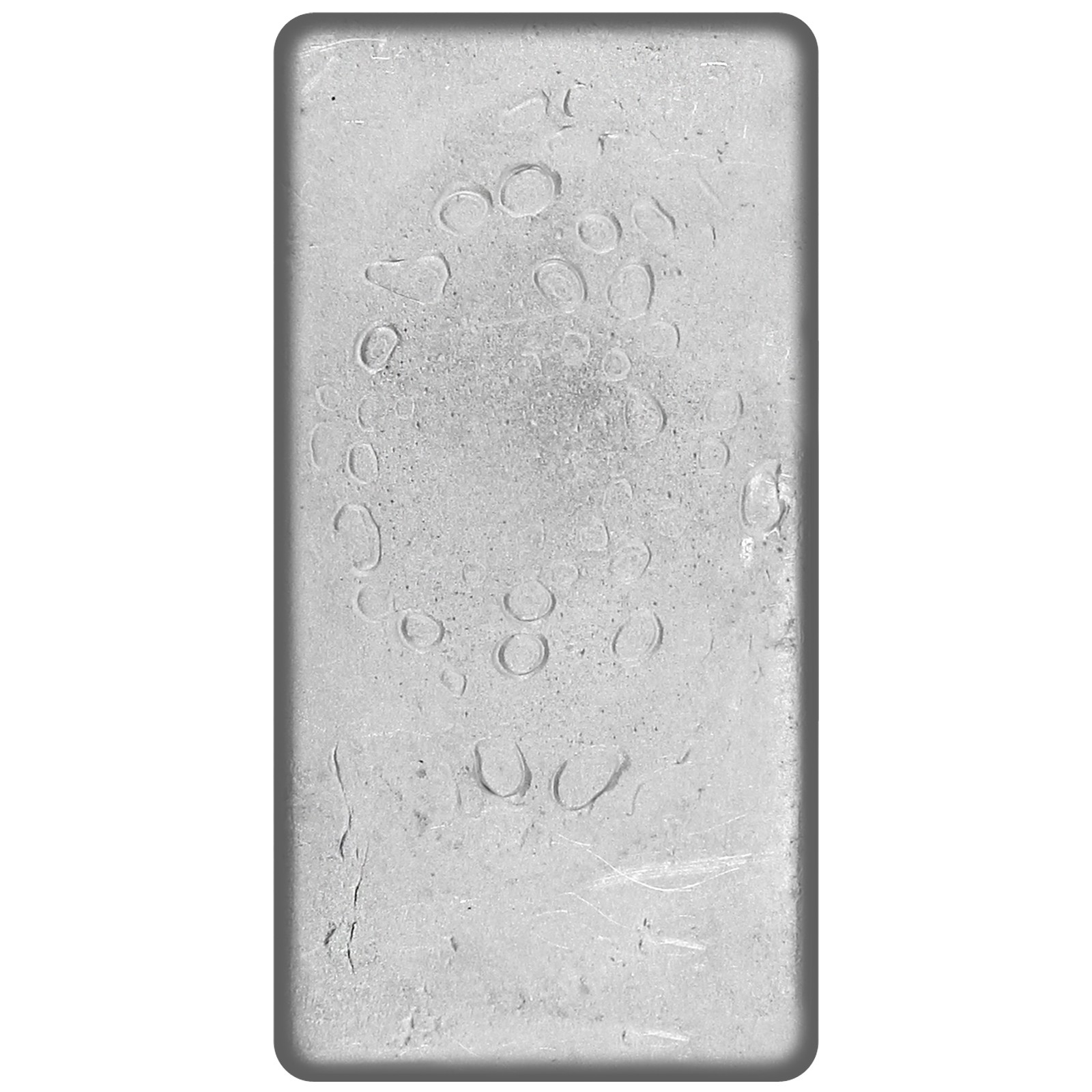 Silvertowne Hand Poured 50oz 999 Fine Silver Bar Ebay