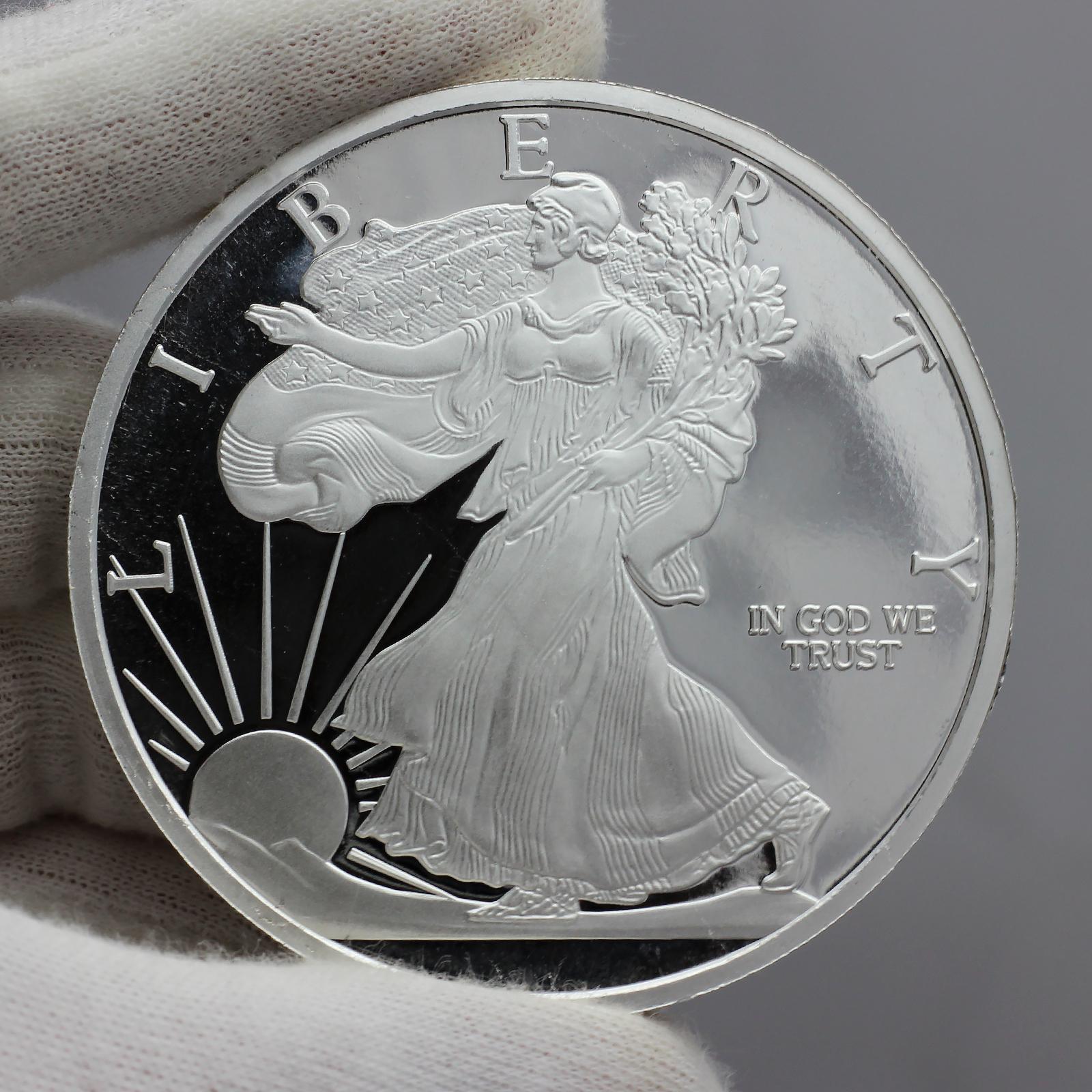 Silvertowne 2019 Silver American Eagle 5oz 999 Silver