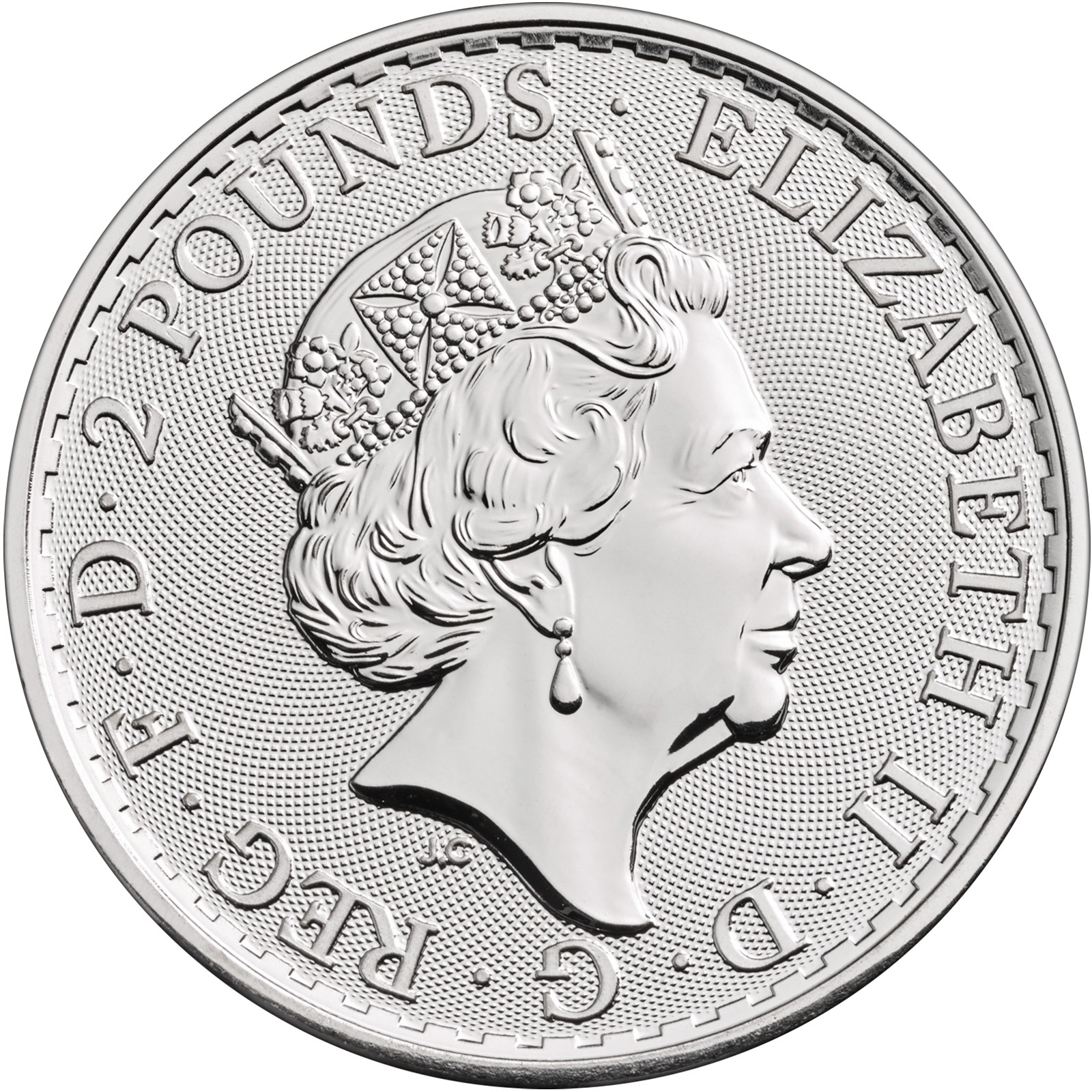 2020 Great Britain .9999 Fine Silver Britannia 1oz BU Coin Single in Flip