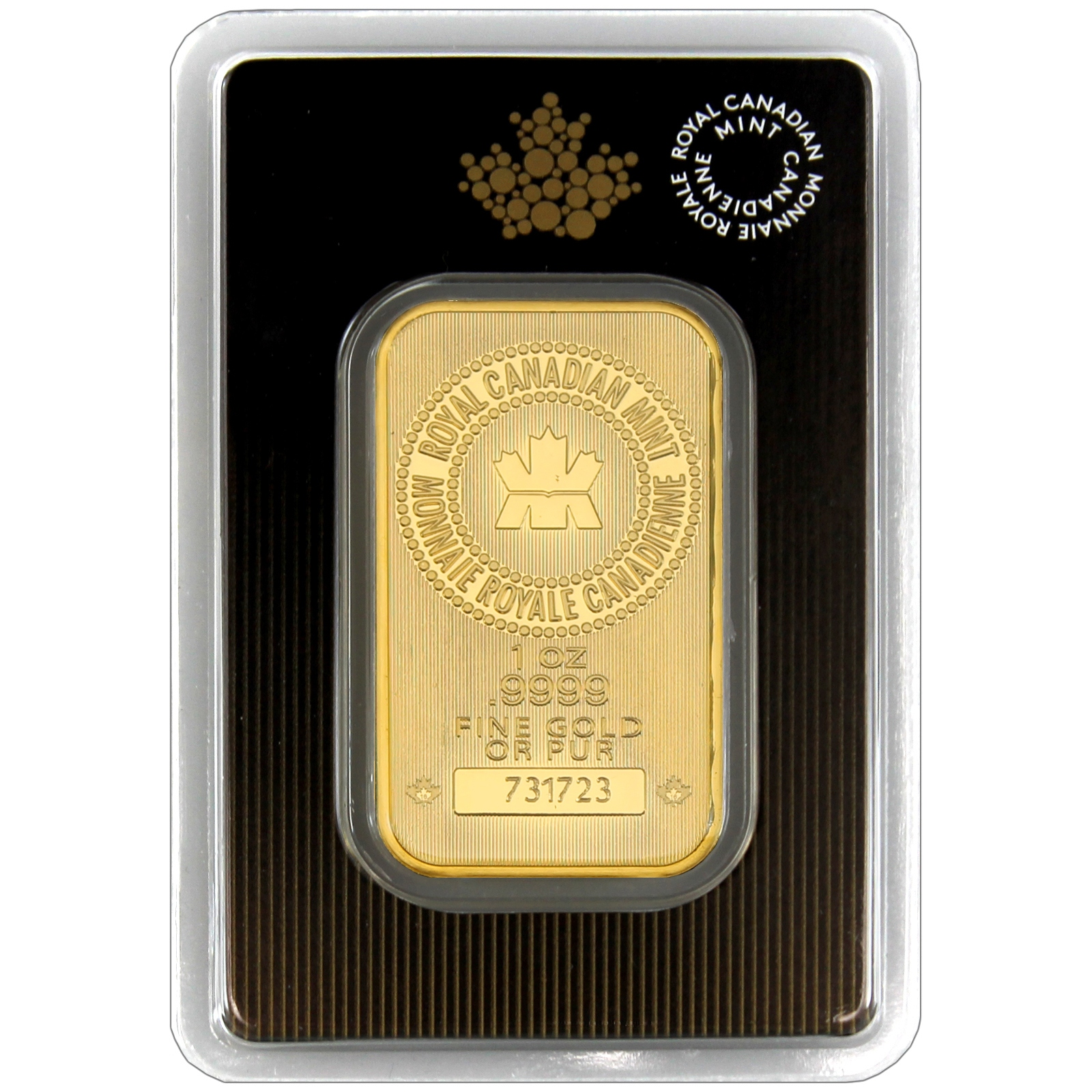 Royal Canadian Mint 1oz Gold Bar Ebay
