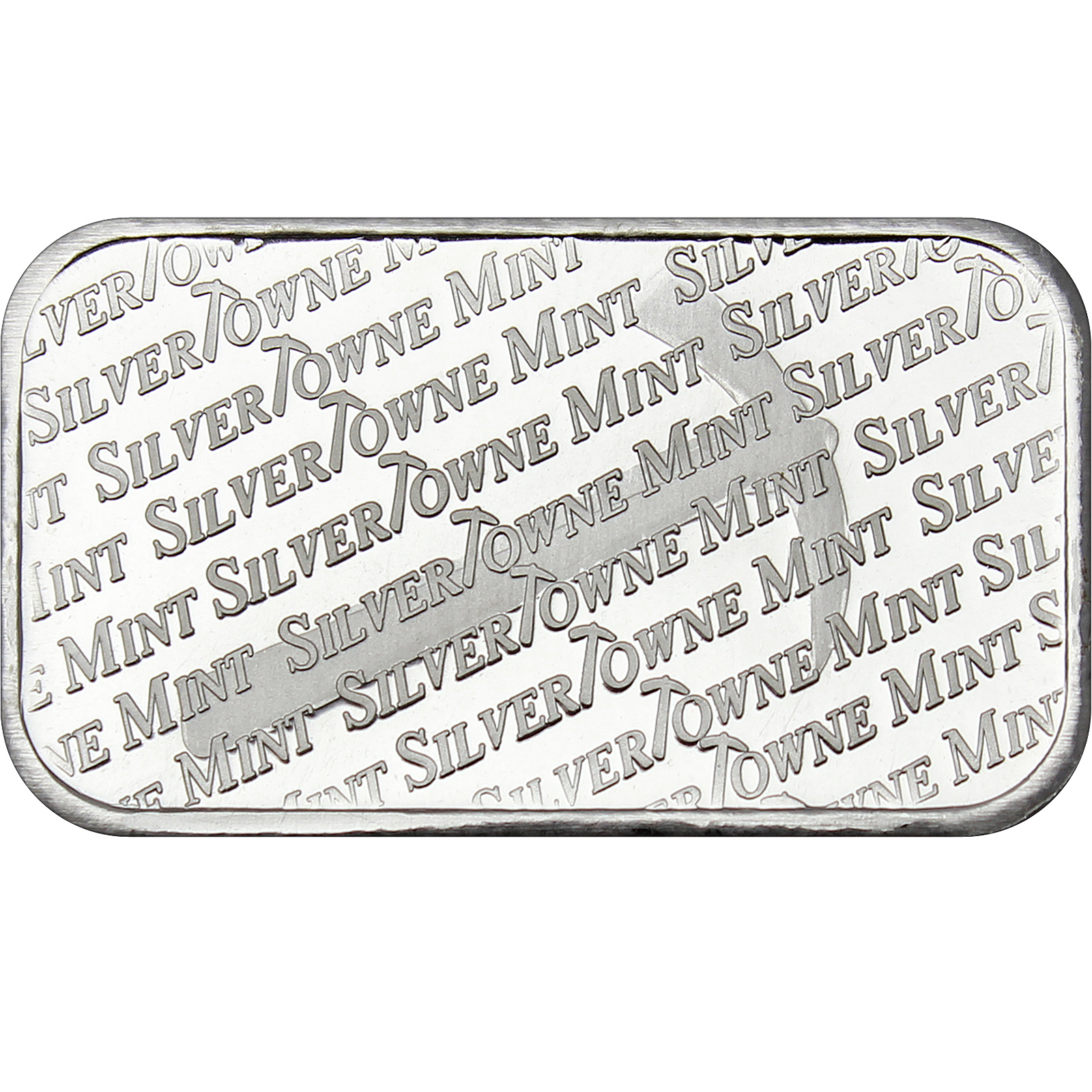 Silvertowne Mint Signature 1oz 999 Fine Silver Bar Lot Of