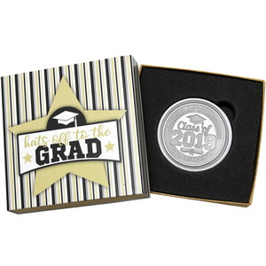 Congratulations Graduate Class of 2019 1oz .999 Silver Medallion