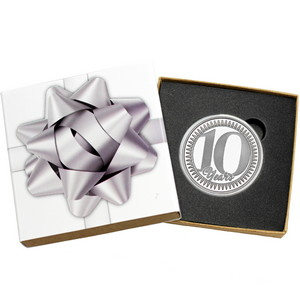 10th Anniversary 1oz .999 Silver Medallion Dated 2020 in Gift Box