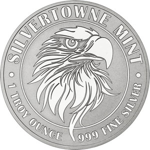 Mighty Eagle 1oz .999 Silver Medallion