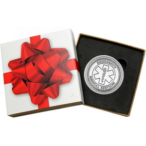 EMS Star of Life 1oz .999 Silver Medallion