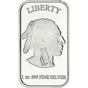 Buffalo Replica 1oz .999 Silver Bar