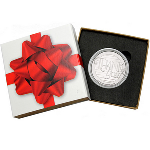 Thank You! 1oz .999 Silver Medallion
