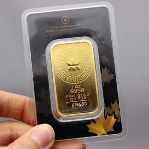 Royal Canadian Mint 1oz Gold Bar - Secondary Market