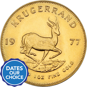 South Africa Krugerrand Gold 1oz Date Our Choice - Secondary Market