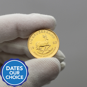South Africa Krugerrand Gold Quarter Ounce Date Our Choice - Secondary Market