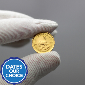 South Africa Krugerrand Gold Tenth Ounce Date Our Choice - Secondary Market