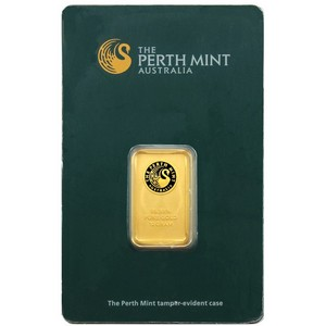 Australian Perth Mint 10 Gram Gold Bar - Secondary Market