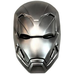 2019 Fiji Silver Marvel Iron Man Mask Antiqued 2oz Silver Domed Coin in OGP