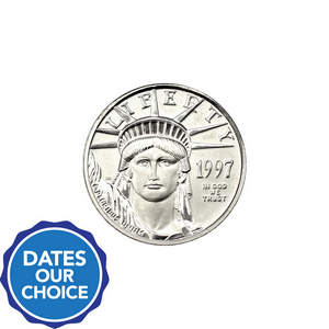 Platinum American Eagle 1/10oz BU Date Our Choice