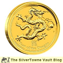Feel the Fire of the 2012 Year of the Dragon – from the Popular Perth Mint Lunar Series II