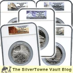 Fab Five – Own All 2010 America the Beautiful Bullion Coins in One Great Set!