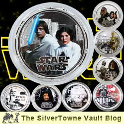 Star Wars Silver Coin Sets – in Collectible Packaging, with Sound!