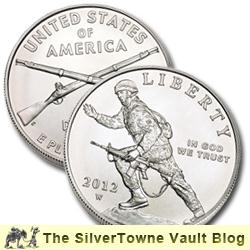 New Infantry Soldier Silver Dollar