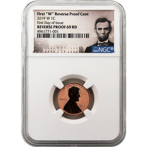 2019 W Lincoln Shield Cent Reverse Proof 69 RD NGC FDI Lincoln Portrait Label