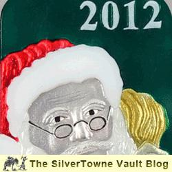 2012 Christmas Bars and Medallions Now Available