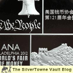 Silver Panda Medal Commemorates 2012 ANA World's Fair of Money