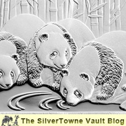 2013 Silver Panda Coins - Featuring Three Pandas - Now Available