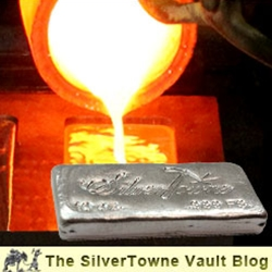 Unique .999 Fine Silver Bars, Hand-Poured by SilverTowne Craftsmen