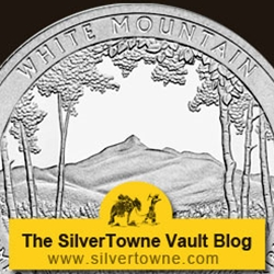 2013 P White Mountain 5oz Silver Coins