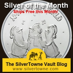 Joy to the World Penguin Choir 1oz .999 Silver Medallion - The December 2013 Silver of the Month