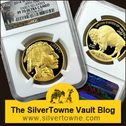 2014 Proof Gold Buffalos – Collector's Version of the Popular Gold Buffalo Coins