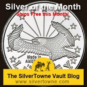 Liberty Eagle 1oz .999 Silver Medallion - The July 2014 Silver of the Month
