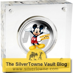 Mickey Mouse and Friends – Classic Disney Characters Featured on Limited Edition Colorized Coins