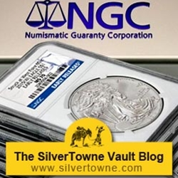 SilverTowne is 1 of 4 NGC Early Releases Distributors for 2015 Silver Eagles at Initial Launch
